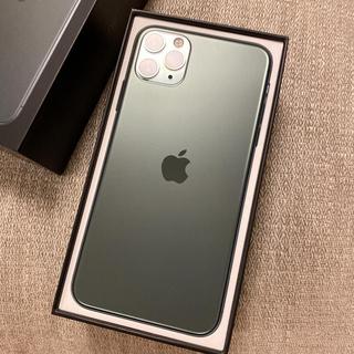 Apple - iPhone 11ProMax ミッドナイトグリーン512GB SIMフリー