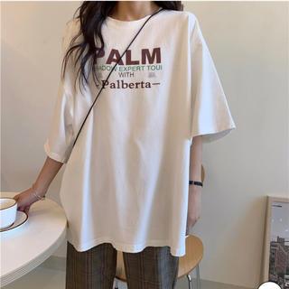 韓国ロゴTシャツ