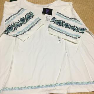 アナスイ(ANNA SUI)の新品・未使用ユニクロとアナスイのコラボTシャツ 3L(Tシャツ(半袖/袖なし))