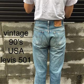 Levi's - USA ヴィンテージ 90's levis 501 ジーンズ デニム
