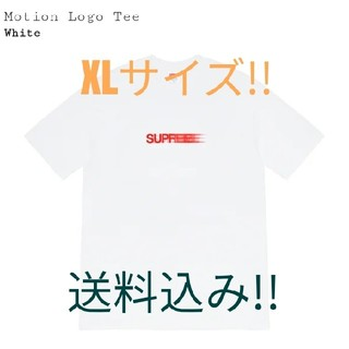 Supreme - Supreme Motion Logo Tee White XLサイズ