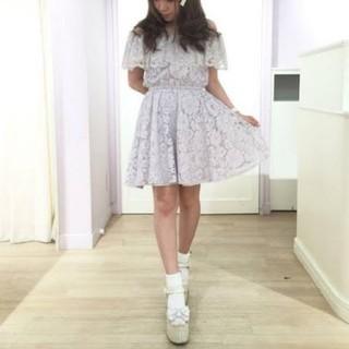 Ank Rouge - アンクルージュ レースワンピース♡