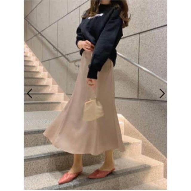 snidel(スナイデル)のサテンロングマーメイドスカート レディースのスカート(ロングスカート)の商品写真