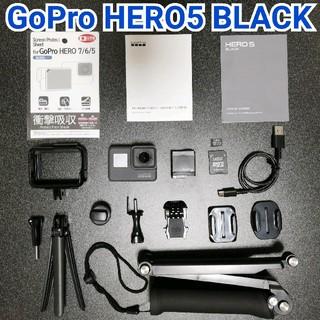 GoPro - 【美品・お得セット】GoPro HERO5  BLACK✨
