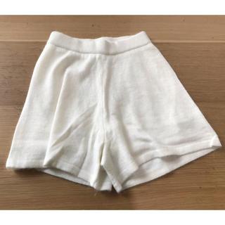 dazzlin アンゴラニットショートパンツ ホワイト