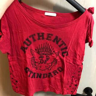 ココディール(COCO DEAL)のココディール 肩あきTシャツ(Tシャツ(半袖/袖なし))