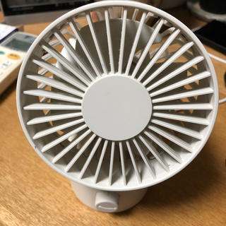 ムジルシリョウヒン(MUJI (無印良品))の無印 卓上扇風機(扇風機)