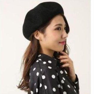 rienda - リエンダ ベレー帽 ブラック