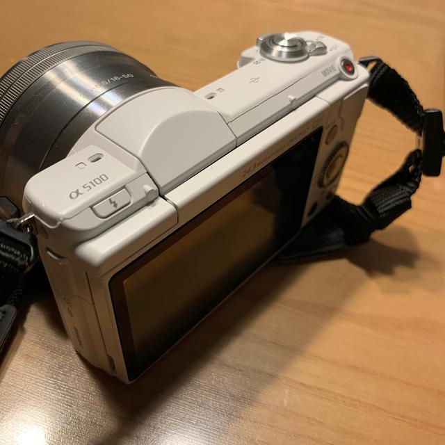 SONY(ソニー)の◆SONY α5100 ズームレンズキット カメラ ミラーレス スマホ/家電/カメラのカメラ(ミラーレス一眼)の商品写真