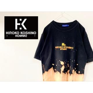 """ヒロココシノ(HIROKO KOSHINO)の古着 """"HIROKO KOSHINO"""" ブリーチTシャツ(Tシャツ/カットソー(半袖/袖なし))"""