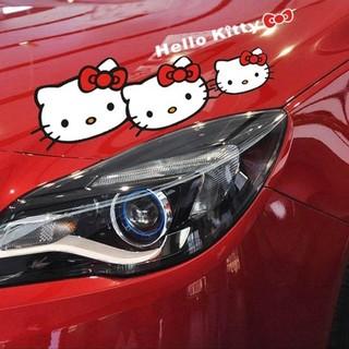 即購入OK★キティちゃんステッカー カーステッカー HelloKitty