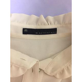 マルティニークルコント(martinique Le Conte)のマルティニーク シャツ ブラウス(シャツ/ブラウス(半袖/袖なし))
