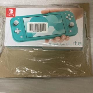 Nintendo Switch - Nintendo Switch Lite ターコイズ 新品未開封品