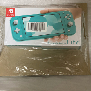 ニンテンドースイッチ(Nintendo Switch)のNintendo Switch Lite ターコイズ 新品未開封品(携帯用ゲーム機本体)