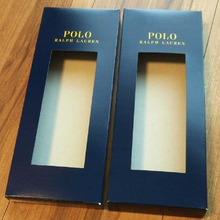 ラルフローレン(Ralph Lauren)のPOLO RALPH LAUREN 2箱セット(ソックス)