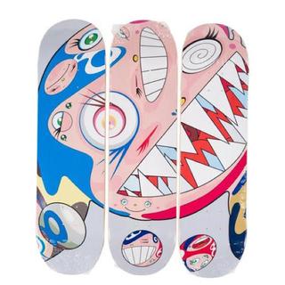 メディコムトイ(MEDICOM TOY)のTakashi Murakami Skateboard Deck Set 村上隆(版画)