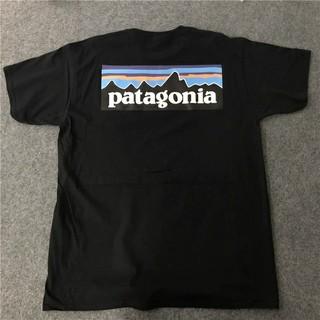 パタゴニアTシャツ/ブラック/ラスト1/S