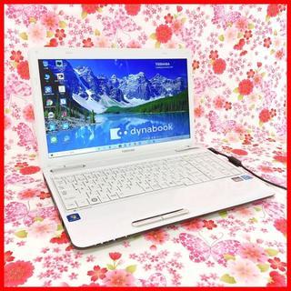 トウシバ(東芝)の【大人気パソコン!!】Core i5♪HDD640GB♪初心者も安心♪Win10(ノートPC)