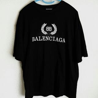 Balenciaga - ☆BALENCIAGA☆Tシャツ☆ロゴT☆バレンシアガ☆ブラック☆確実正規品☆