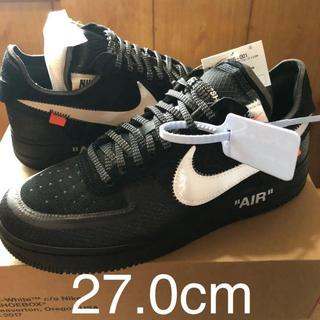 THE TEN OFF-WHITE × NIKE AIR FORCE 1 LOW