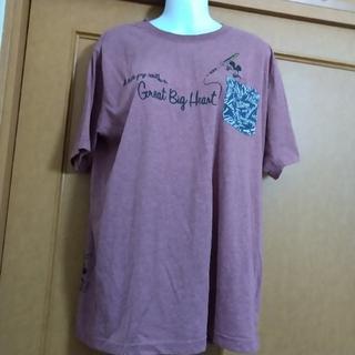 ミッキーマウス(ミッキーマウス)の大きめサイズ Disney ミッキーマウス Tシャツ (Tシャツ(半袖/袖なし))