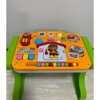 アガツマ(Agatsuma)のアンパンマン よくばりテーブル(知育玩具)