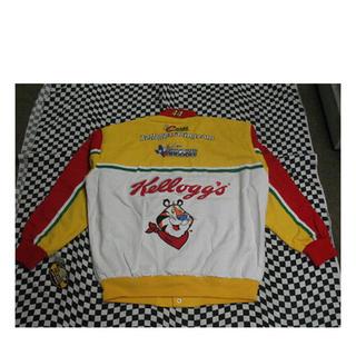 ジェフハミルトン jeff hamilton ナスカー レーシングジャケット(ブルゾン)