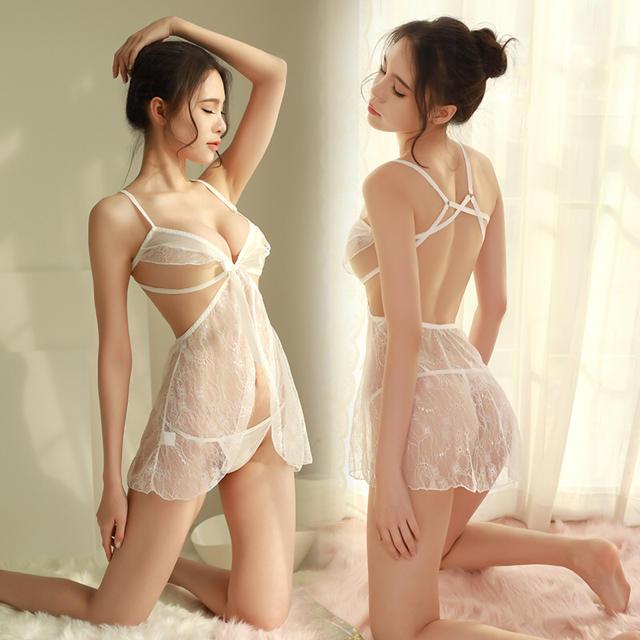 可愛い♡ ベビードール ランジェリー Tバック エンタメ/ホビーのコスプレ(衣装一式)の商品写真