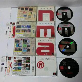 PlayStation - ≪帯付・レアPSソフト≫ナムコミュージアム123&アンコール