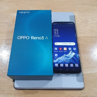 ANDROID - OPPO Reno3 A ホワイト美品