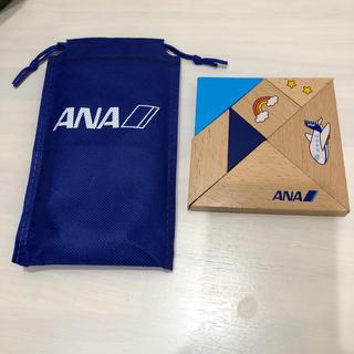 エーエヌエー(ゼンニッポンクウユ)(ANA(全日本空輸))のANA 木製パズル(知育玩具)