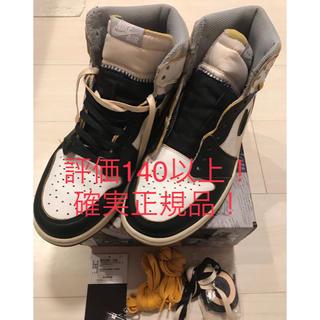 NIKE - NIKE Union Jordan1 Black toe 国内正規品!26.5