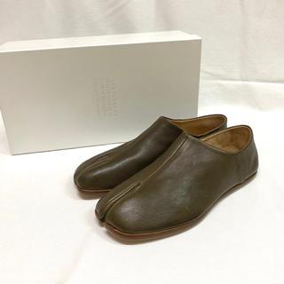 マルタンマルジェラ(Maison Martin Margiela)の【新品】20SS マルジェラ タビ ローファー 革靴 レザー US8定価9.5万(ドレス/ビジネス)