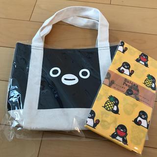 JR - Suica スイカペンギン 保冷バッグ&手ぬぐいハンカチ 在庫1