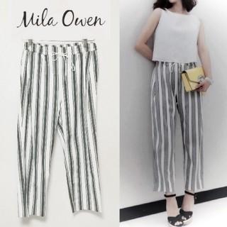 Mila Owen - 【ミラオーウェン】マルチストライプ パンツ