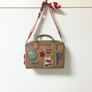 COACH - COACH🍋定価8万 限定デザイン 2Wayミニボストン  ショルダーバッグ