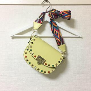 Marni - MODE FOURURRE🍋超美品 定価7万 スタッズショルダーバッグ