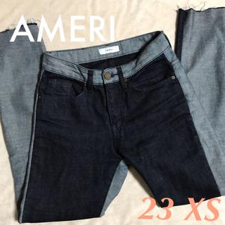 アメリヴィンテージ(Ameri VINTAGE)の超美品✱アメリ ヴィンテージ✱切り替え デニム パンツ✱23 XS(デニム/ジーンズ)
