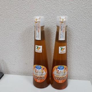 長崎県島原産 生姜ジンジャーシロップ2本セット