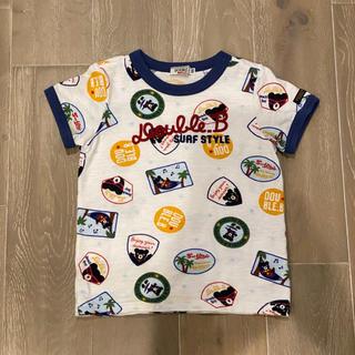 DOUBLE.B - 【今期継続】ミキハウス ダブルビー 総柄サマーフェスTシャツ 100