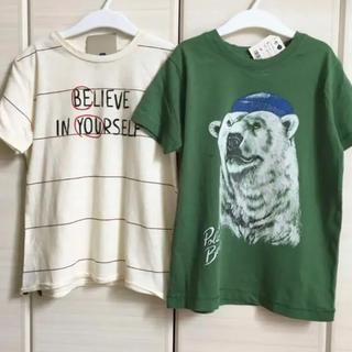 ザラキッズ(ZARA KIDS)の新品♡zara kids 116 Tシャツ 2枚セット(Tシャツ/カットソー)