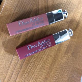 Dior - ディオール アディクト リップ ティント 421と771 ナチュラル ヌード