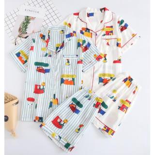 ★白M♡新品♡ 即売れ パジャマ♪ レディース 半袖 短パン 部屋着(ルームウェア)