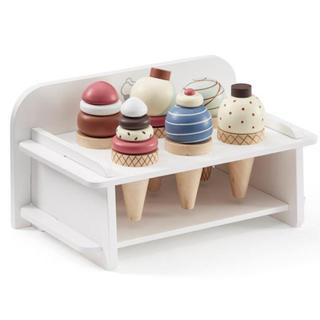 familiar - 【在庫ラスト】新品♡キッズコンセプト♡木製アイスクリームセット