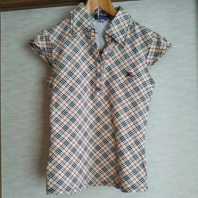 BURBERRY BLUE LABEL(バーバリーブルーレーベル)のBURBERRY ブルーレーベル 半袖シャツ レディースのトップス(Tシャツ(半袖/袖なし))の商品写真
