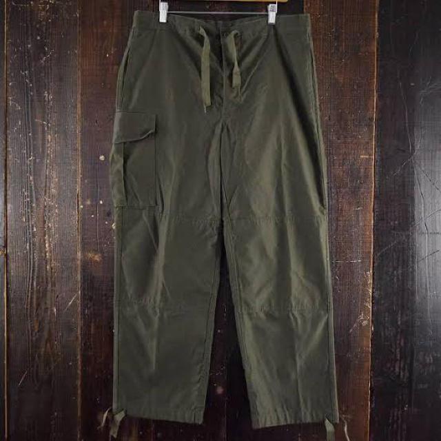 COMOLI(コモリ)のベイカーパンツ 軍パン ワイドパンツ デッドストック ベルギー軍 M88 メンズのパンツ(ワークパンツ/カーゴパンツ)の商品写真