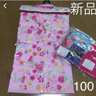 新品❤ 100サイズ 女の子 浴衣