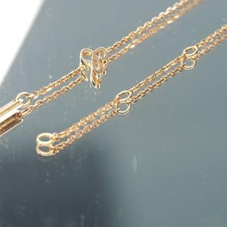 ショパール(Chopard)の質流れ品HF!Chopard ショパール 750PGピンクゴールドネックレス(ネックレス)