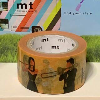エムティー(mt)の演奏者 マスキングテープ«mt 限定 レア»(テープ/マスキングテープ)