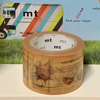 エムティー(mt)の図鑑・貝  マスキングテープ«mt 限定 レア»(テープ/マスキングテープ)